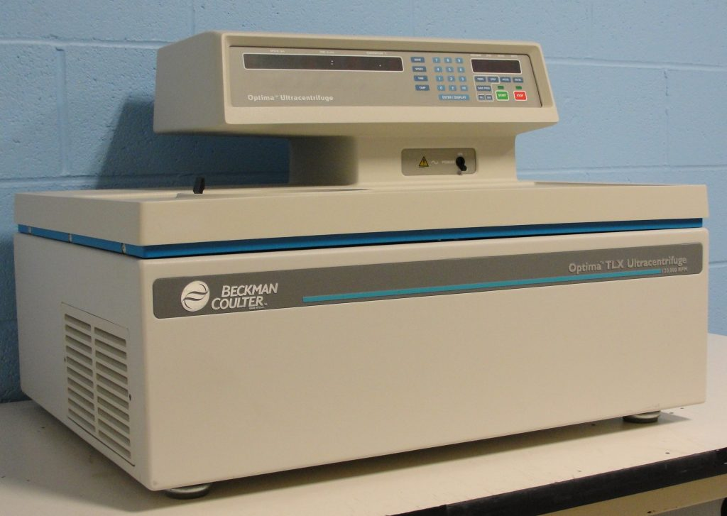 Beckman Optima TLX High Speed Tabletop Centrifuge